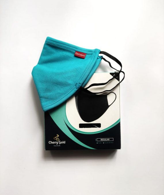 SKY BLUE FACE MASK (2Pcs)